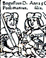 Boguslaus X Pommern and his wife Anna Jagiellon.png