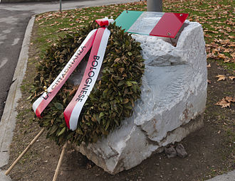 2003 Nasiriyah bombing - Nasiriyah Bombing Memorial (Bologna)