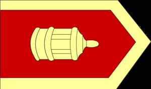 Humbaracı - Image: Bombardieru karogs