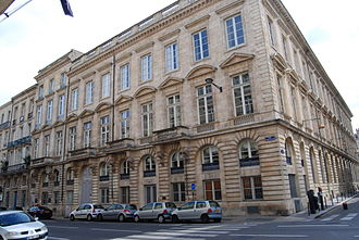 Gironde - Prefecture building of the Gironde department, in Bordeaux