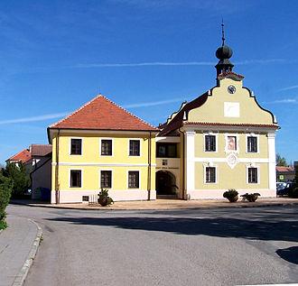 Borovany (České Budějovice District) - Town hall in Borovany