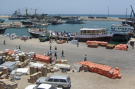 The Port of Bosaso Bosaso port.jpg