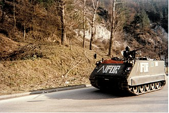 Implementation Force - Image: Bosnie croisedesitaliens