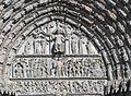 Bourges. Cathédrale. Jugement Dernier Tympan Centre Ouest.jpg
