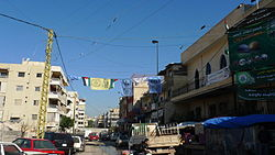 Bourj el-Barajneh entrance - Flickr - Al Jazeera English.jpg