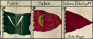 Republic of Salé - Image: Bowles's Naval Flags Salé