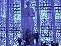 Brasilia DF Brasil - Santuário Dom Bosco, estatua de Dom Bosco, em mármore - panoramio.jpg