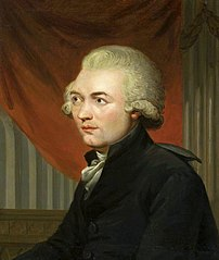 Portrait of Georg Joseph Vogler.