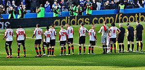 2012–13 Brentford F.C. season - Image: Brentford FC, Stamford Bridge, February 2013