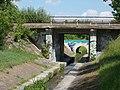 Bridges over Csömöri Stream, 2017 Káposztásmegyer, Rákospalota.jpg
