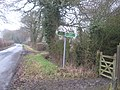Bridleway crosses Kiln Lane - geograph.org.uk - 1720554.jpg