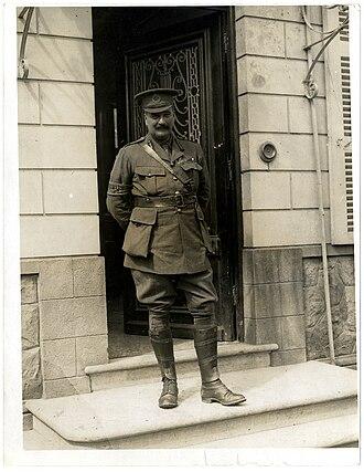 Charles Blackader - Blackader at brigade headquarters in France, 24 July 1915