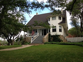 National Register of Historic Places listings in Prescott, Arizona - Image: Brinkmeyer House Prescott, AZ