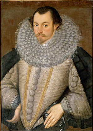 Battle of Flores (1592) - Sir Martin Frobisher, assumed to be the subject of this portrait, took command of the fleet when Raleigh was recalled.