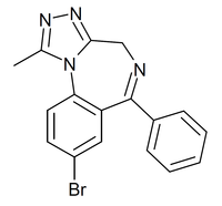 Bromazolam structure.png