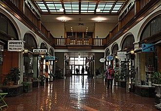 Arcade Building (Brookline, Massachusetts) - Image: Brookline MA Arcade Building interior