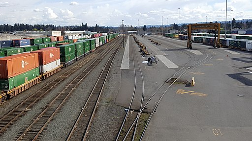 Brooklyn Intermodal Rail Yard, Portland, Oregon (2019) - 6