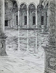 Portico of the Mosque of Mohamet-Ali