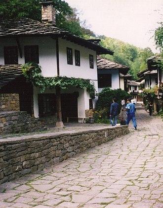 Gabrovo Province - View of the Etara complex
