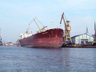 Overseas Tankship (UK) Ltd v Morts Dock and Engineering Co Ltd - Crude oil tanker Lucky Lady in shipyard in Gdańsk