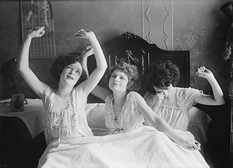 Nightgown - Mid-1920s nightgowns worn by the Brox Sisters.