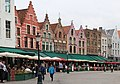 Bruges, the northern side of the town square.JPG