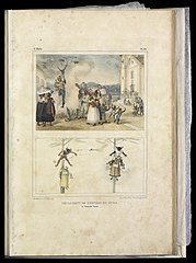 Brulement de l'effigie du juda : le Samedi Saint