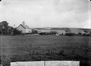 Brynmawr chapel (CM) and Cefn Inn, Llaniestyn