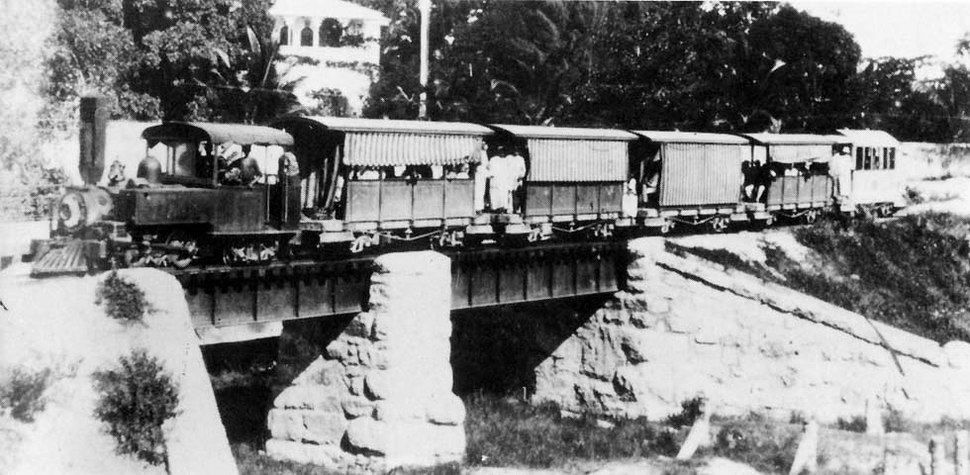 Bububu railway train, circa 1905