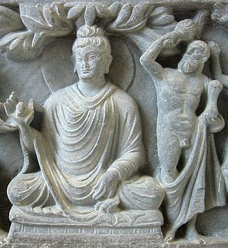 Pakistani architecture - An example of the fusion of Greco-Buddhist styles: Representation of Buddha with Herakles