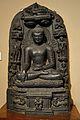 Buddha - Circa 10th Century CE - Bihar - ACCN 3752-A25151 - Indian Museum - Kolkata 2013-04-10 7769.JPG