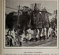 Buddhist funeral procession, Japan, 1909.jpg
