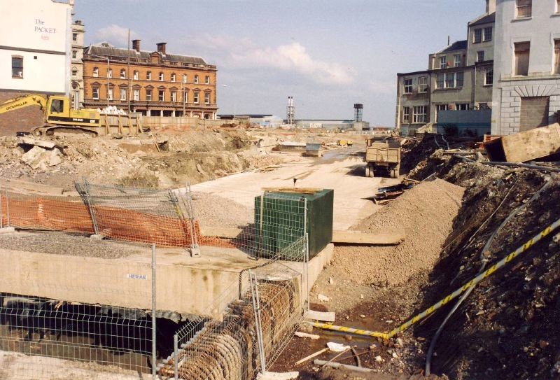 Building the Butetown Tunnel