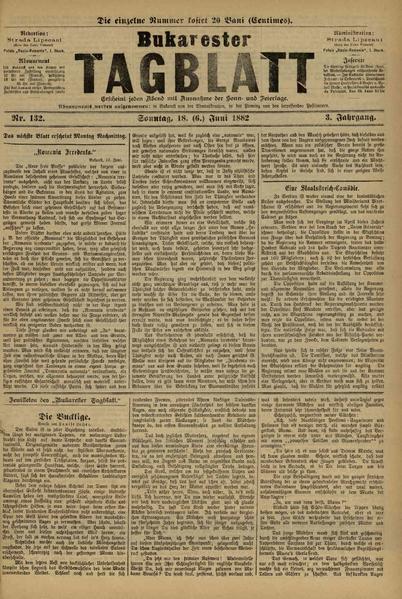File:Bukarester Tagblatt 1882-06-18, nr. 132.pdf