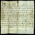 Bull of Pope Honorius III - PRONI's earliest document! (26487338998).jpg