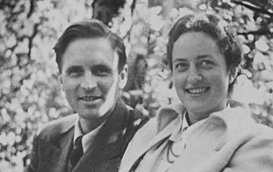 Karl Carstens - Karl and Veronica Carstens in 1949