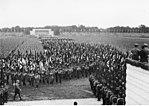 Die Ehrenhalle für die Gefallenen des Krieges in Nürnberg wurde schon vor ihrer Einweihung in die Inszenierung der Reichsparteitage integriert
