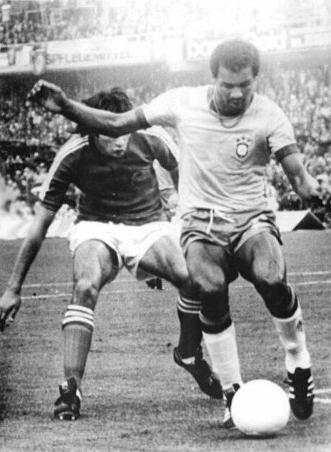 Bundesarchiv Bild 183-N0613-0031, Fußball-WM, Brasilien - Jugoslawien 0-0