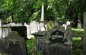 Bunhill Fields - Image: Bunhill view 3
