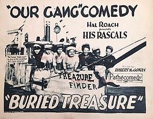 Buried Treasure (1926 film) - Lobby card