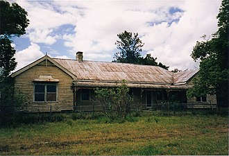 "Seaham, New South Wales - ""Burnbrae"" Homestead, pictured 2002"