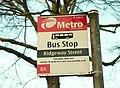 Bus stop, Belfast - geograph.org.uk - 1117801.jpg