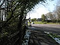 Bus stop between Asda and B and Q - geograph.org.uk - 752936.jpg