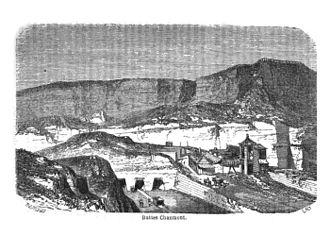 Parc des Buttes Chaumont - Image: Buttes chaumont carrieres joanne 1863