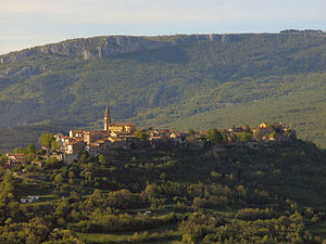 Buzet - View of Buzet
