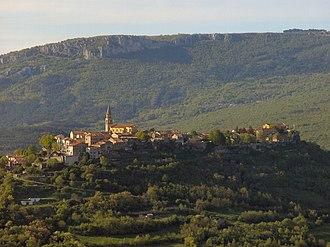 Buzet - View of Buzet