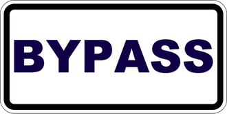 Burke County, Georgia - Image: Bypass plate