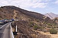 CA SR178 Erskine Fire cleanup traffic 2016-06-28.jpg