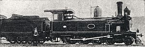 CGR 4th Class 4-6-0TT 1882 - Tilney's extended smokebox