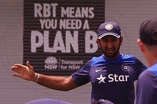 Cheteshwar Pujara Indian cricket player